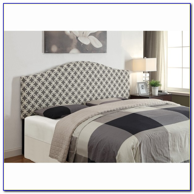 Grey Super King Size Headboard