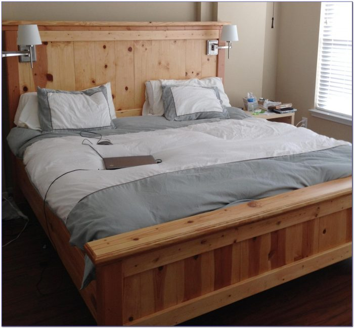 Headboard King Size Bed Dimensions