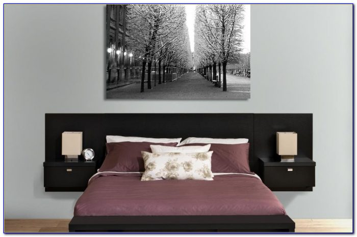 Headboard With Nightstands Attached Uk