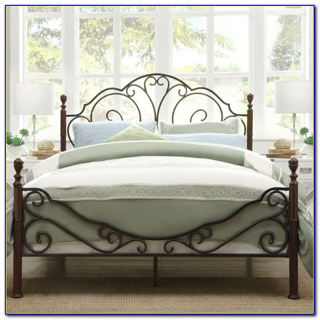 Incredible Best King Metal Bed Frame Headboard Footboard Photo 26 Bed For King Metal Bed Frame Headboard Footboard