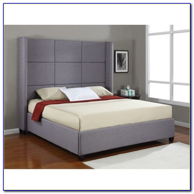 High Headboard King Size Bed