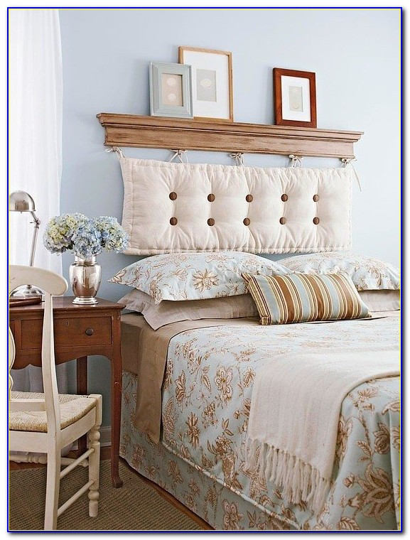 How To Attach A Headboard To The Wall