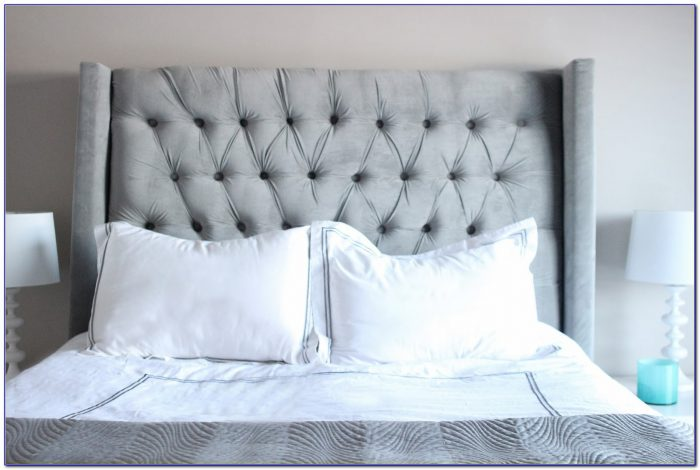 How To Make A Tufted Headboard With Nailhead Trim