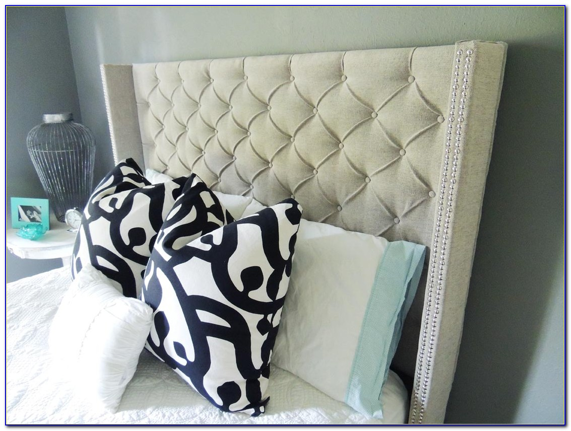 How To Make Wingback Upholstered Headboard