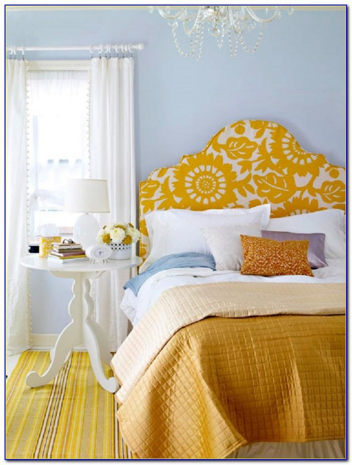 How To Make Your Own Padded Fabric Headboard