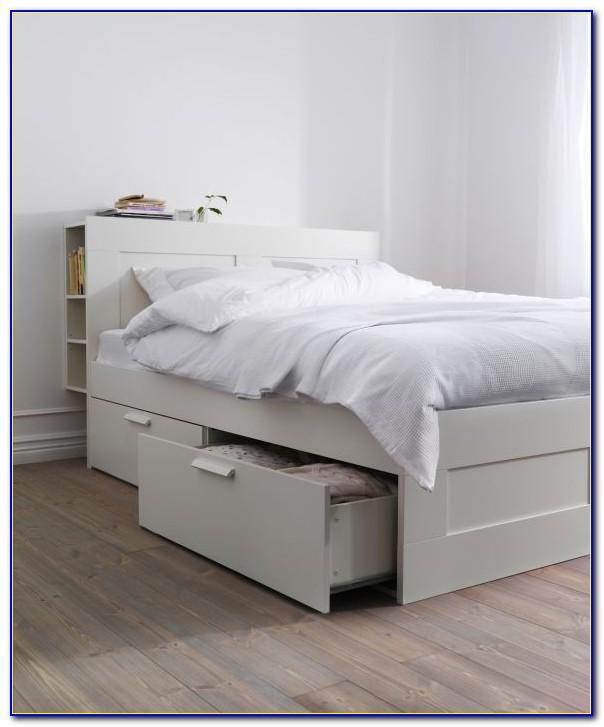 Ikea Flaxa Headboard With Storage