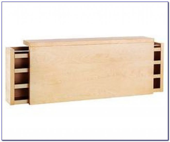 Headboards With Hidden Storage | Ikea Malm Bed, Shelf Headboard Within Malm Bed With Storage Headboard