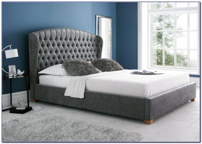 Iron Headboard King Size Bed