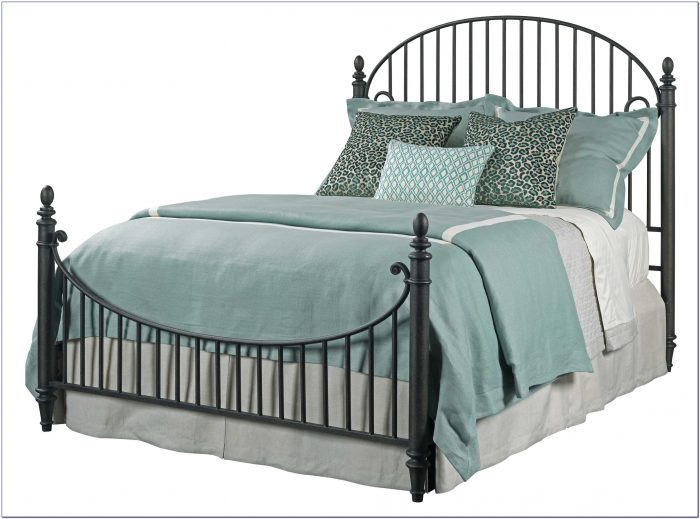 Iron Queen Bed Headboard And Footboard