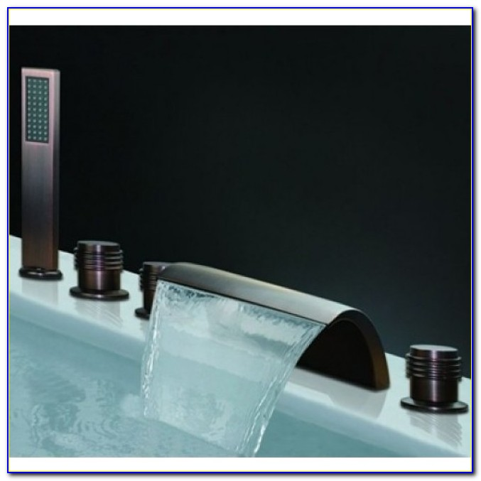 Jacuzzi Roman Tub Faucets Waterfall