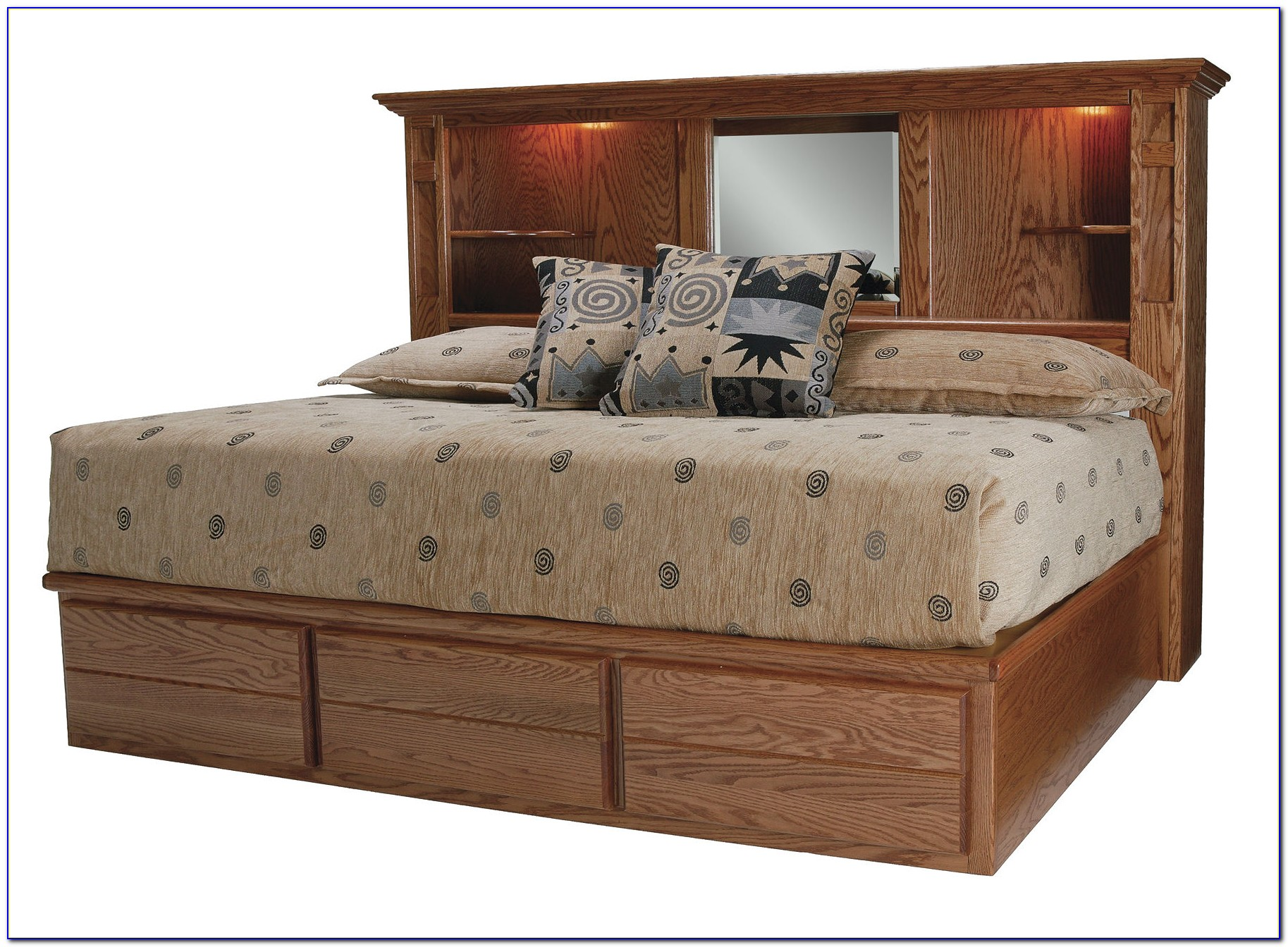 King Size Bed Headboard With Storage