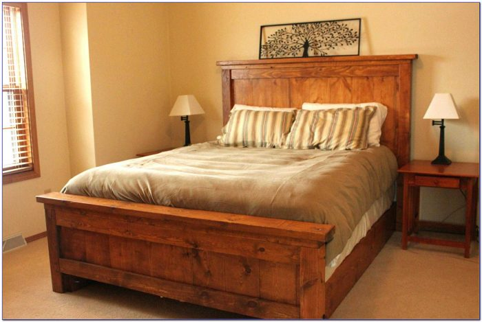 King Size Bed Headboards With Shelves