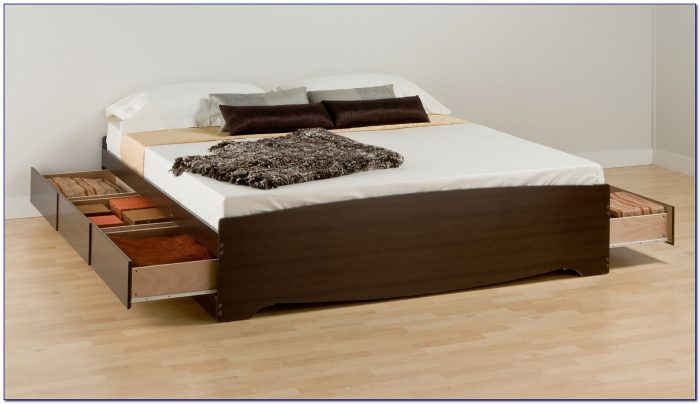 King Size Bed With Headboard And Footboard