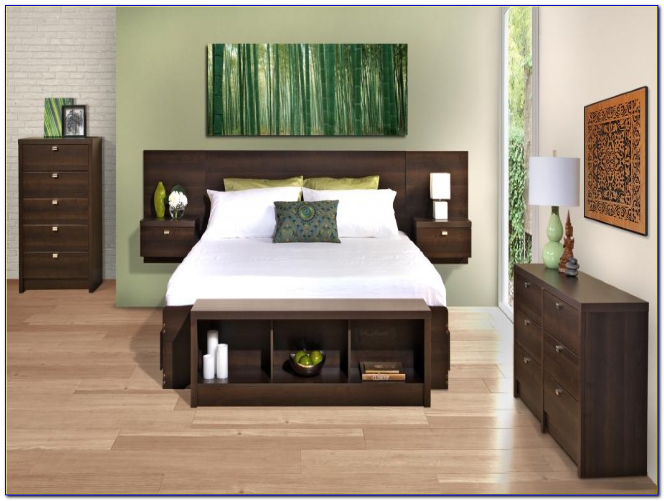 King Size Bookcase Headboard Plans