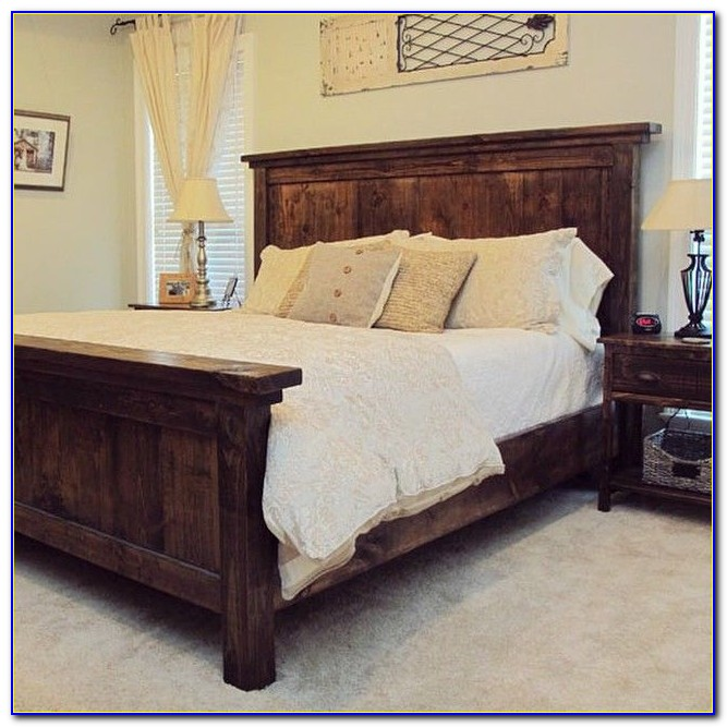 King Size Cherry Wood Headboards