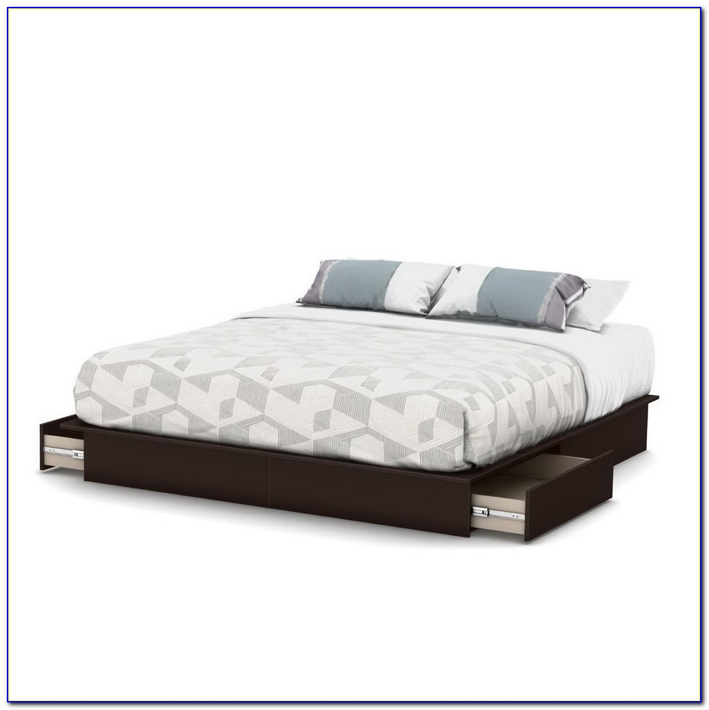 Storage Bed Without Headboard