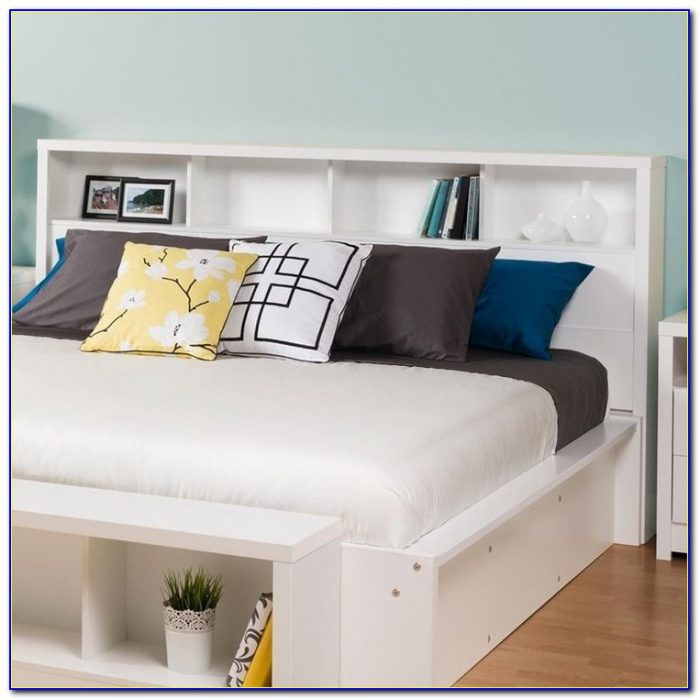 King Size Headboard With Storage Plans