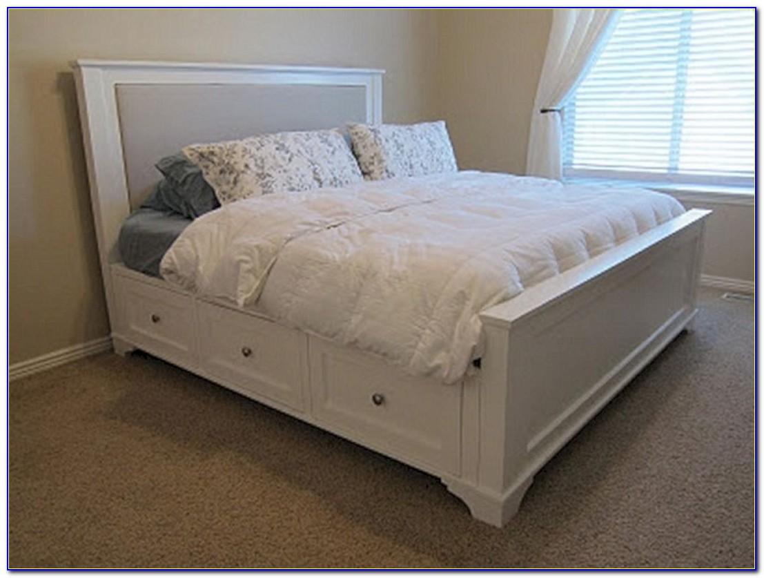 King Size Storage Headboard Plans