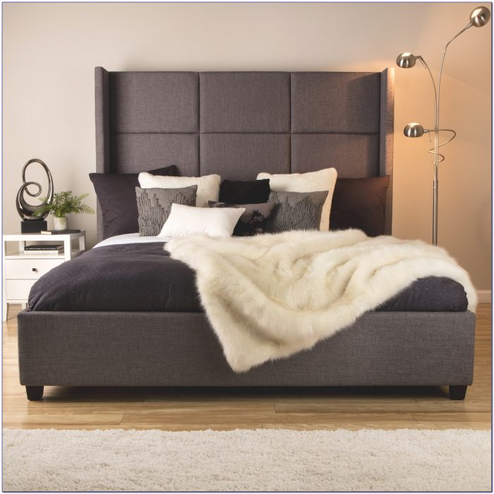 King Size Upholstered Headboard And Footboard