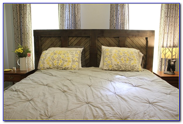 King Size Upholstered Headboard Diy