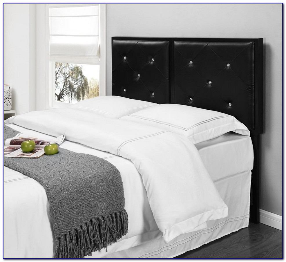 King Size Upholstered Headboard With Storage