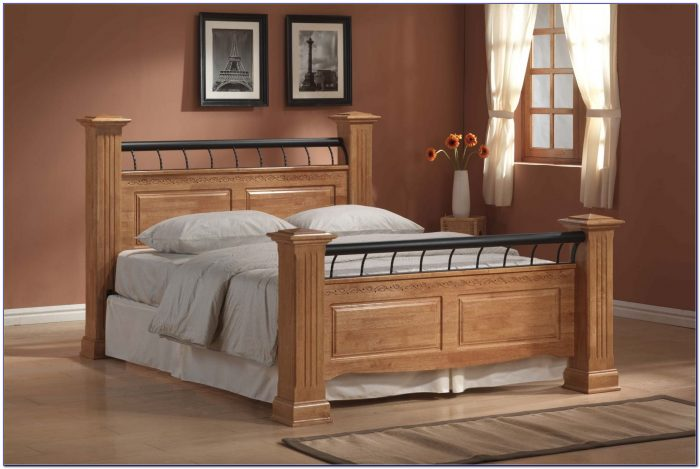 King Size Wood Headboard And Frame