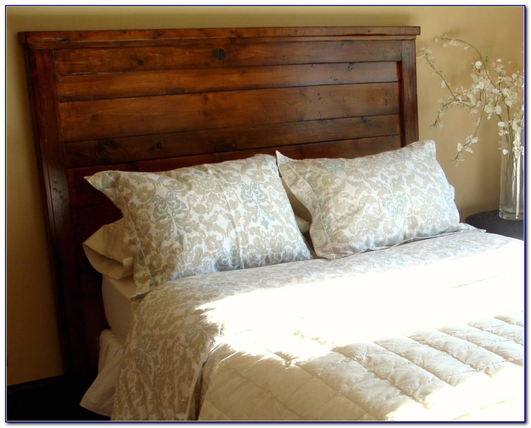 King Size Wooden Headboard