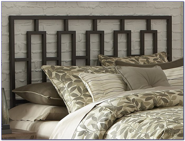 King Size Wrought Iron Headboard And Footboard