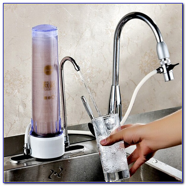 Kitchen Faucets With Water Filters Built In