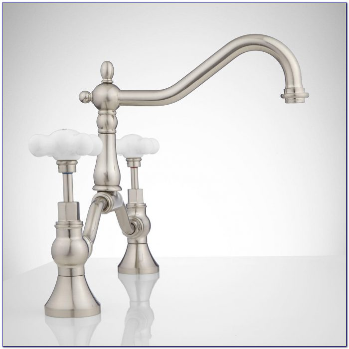 Kohler Porcelain Cross Handle Faucet