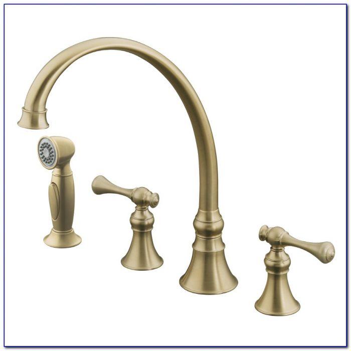 Kohler Rubbed Bronze Kitchen Faucet