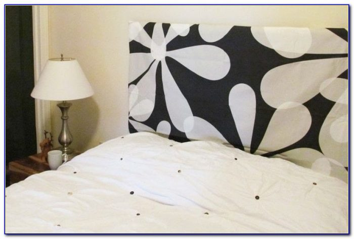 Make Padded Headboard Queen Size Bed