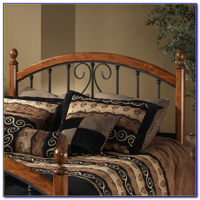 Metal And Wood Headboards