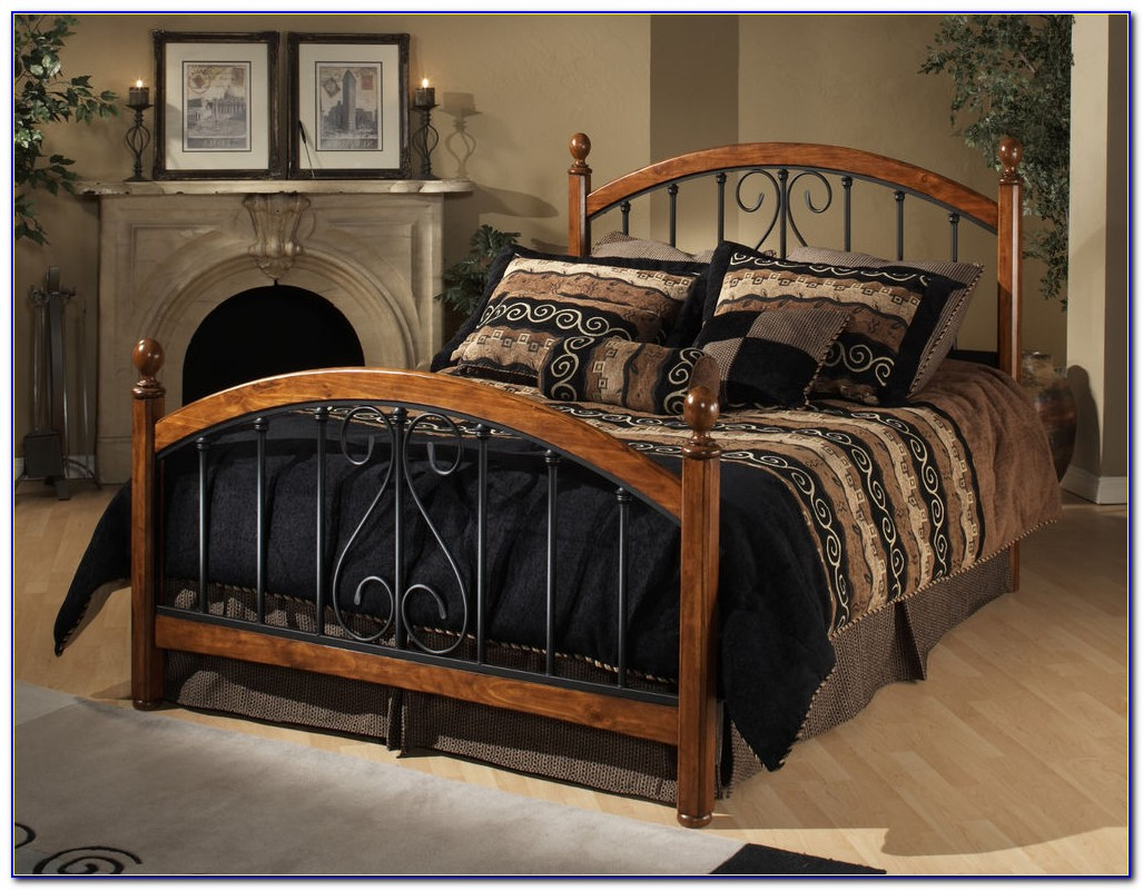 Metal And Wood Queen Headboards