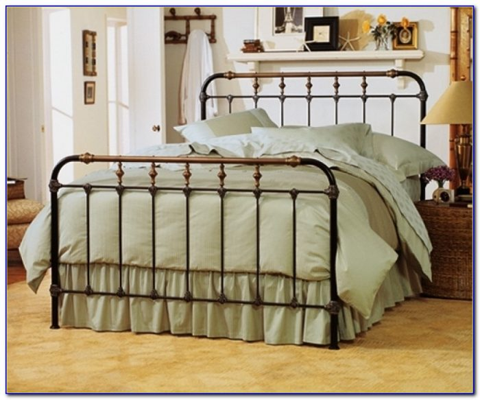 Cast Iron Queen Bed Frame Rustic Metal Headboards Antique Bedroom Rustic Metal Bed Frames