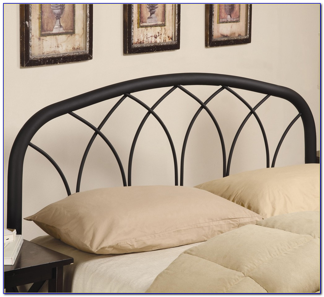 Metal Bed Frame Headboard Queen