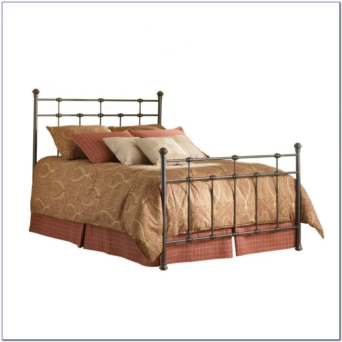 Metal Bed Frame With Headboard And Footboard Brackets Canada