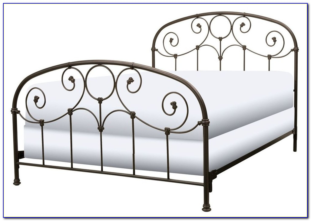 Metal Bed Frame With Headboard And Footboard
