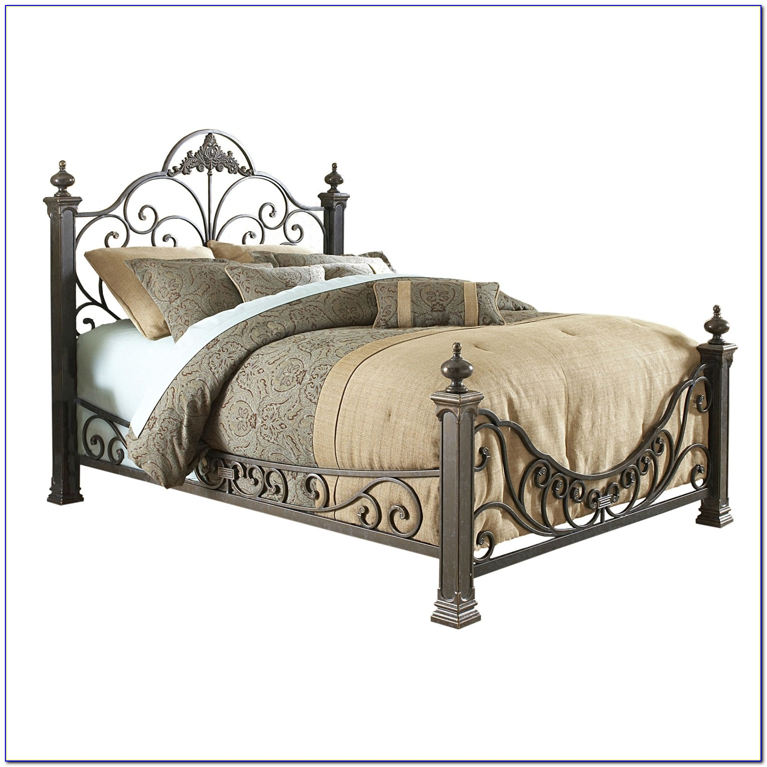 Metal Headboard And Footboard Queen Size