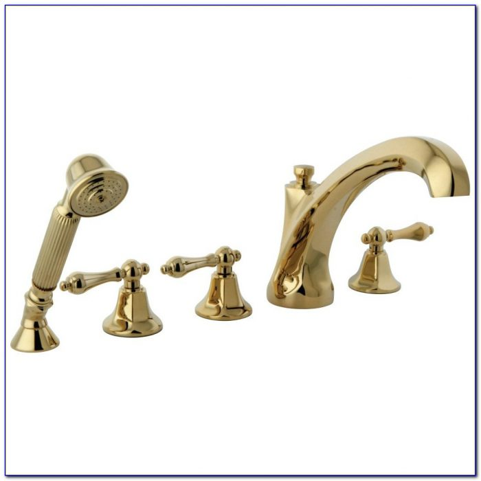 Moen Polished Brass Roman Tub Faucet
