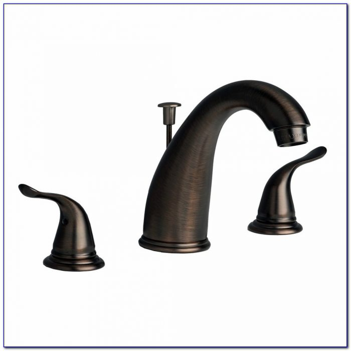Moen Rubbed Bronze Bathroom Faucets