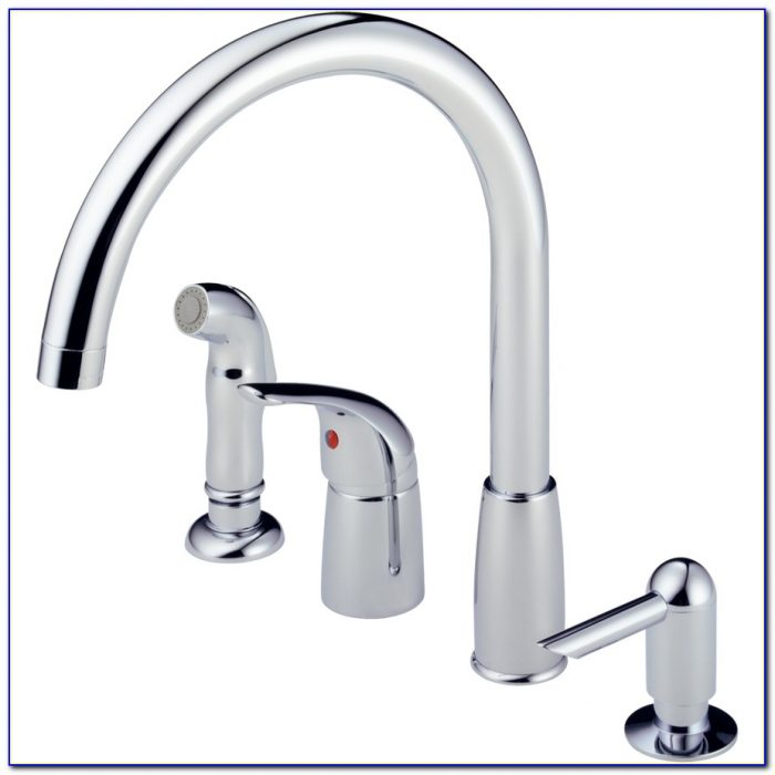 Moen Single Handle High Arc Kitchen Faucet