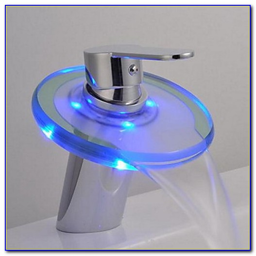 Nest Led Modern One Hole Bathroom Sink Faucet