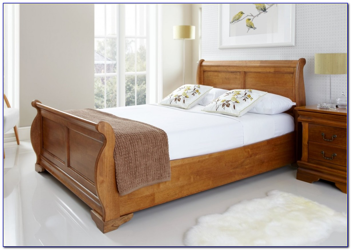 Oak Super King Size Headboard
