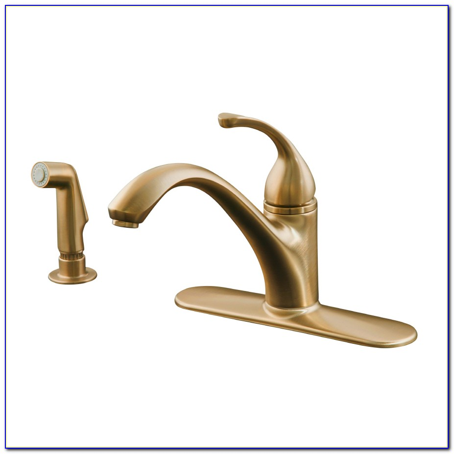 Oil Rubbed Bronze Kitchen Faucets