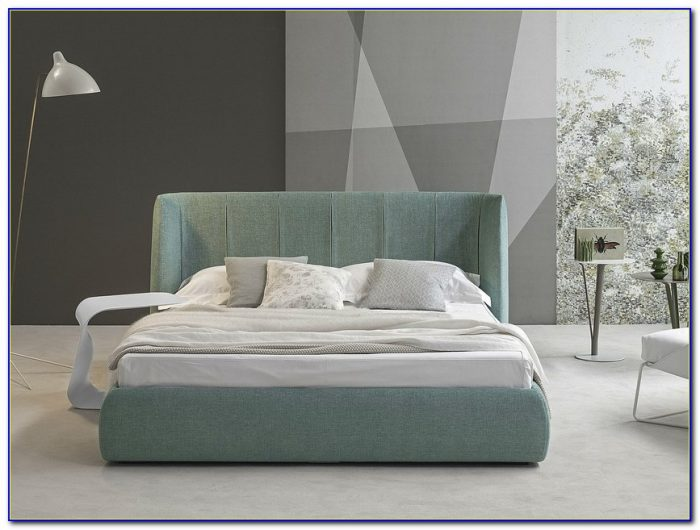Padded Headboard Double Bed
