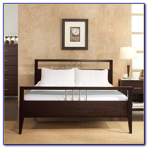 Platform Beds With Bookcase Headboard