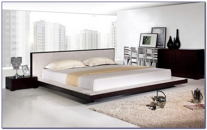 Platform Beds With Padded Headboards