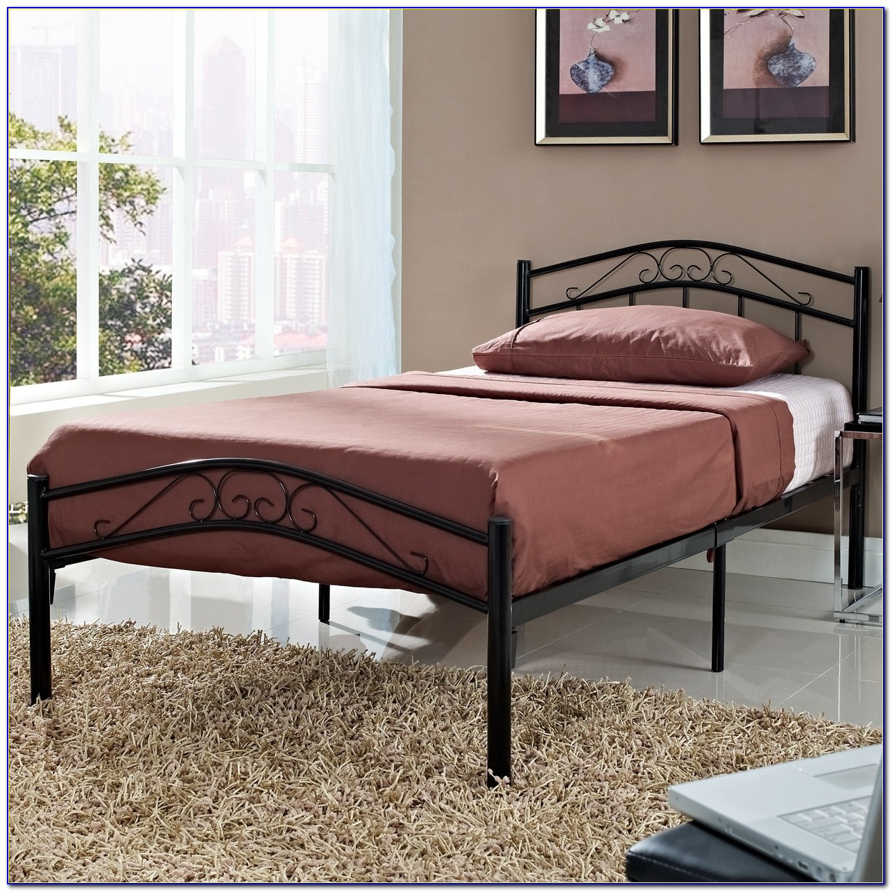 Platform Beds Without Headboard