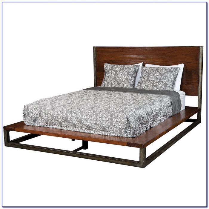 Queen Bed Frame And Headboard With Storage